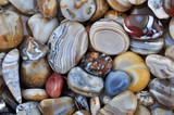 Natural Agate, various types and color