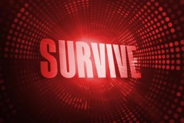 Survive against red pixel spiral