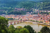 Heidelberg city skyline, Germany