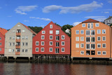 Old Storehouses in Trondheim,  Norway