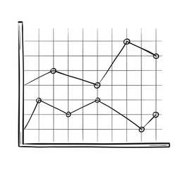 sketch of the line chart