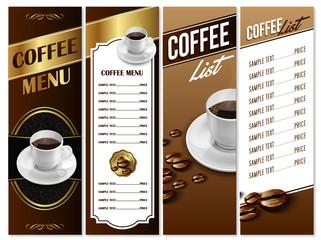 coffee menu gold