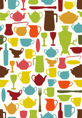 Tableware seamless