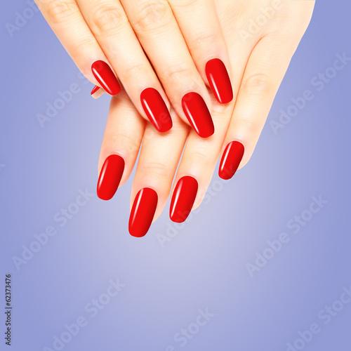 rot lackierte n gel stockfotos und lizenzfreie bilder auf bild 62373476. Black Bedroom Furniture Sets. Home Design Ideas