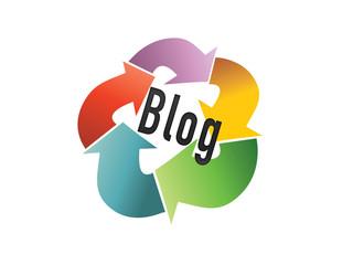 Blog circulo flechas