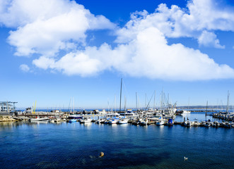 Harbor at Monterey California