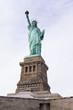 Leinwanddruck Bild - miss liberty