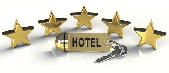 Hotel Sterne Zimmerschlüssel