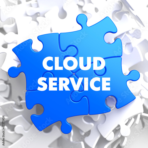 Cloud Service on Blue Puzzle.