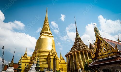 Temple of the Emerald Buddha Bangkok,Thailand