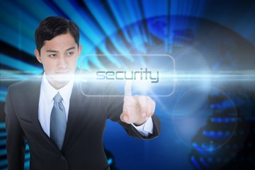 Security against digital earth background