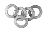 Group of steel lock washers