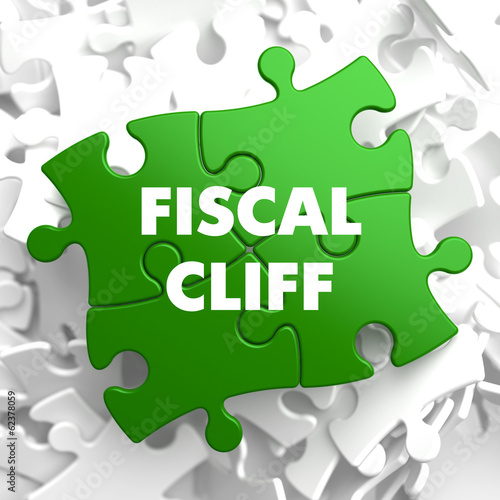 Fiscal Cliff on Green Puzzle.
