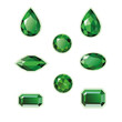 Emeralds Set - 62378411