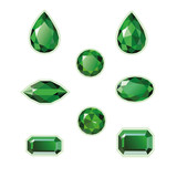 Emeralds Set