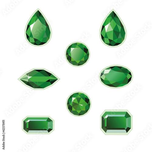 Emeralds Set - 62378411