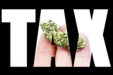 Marijuana and Cannabis Tax, Text and Image, Tax Revenue