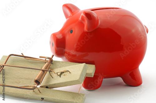 mausefalle mit sparschwein
