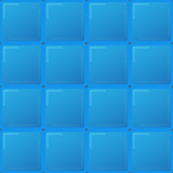 big blue tiles, seamless pattern