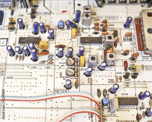 electronic circuitry in a hi fidelity radio