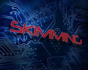 Skimming against digital circuit board