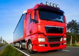 Naklejka LKW, Auflieger - Transport