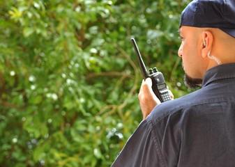 Poliziotto in servizio