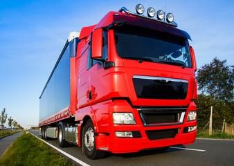 LKW, Auflieger - Transport