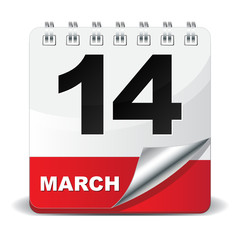 14 MARCH ICON