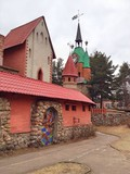 Fairy town for children to memory Hans Christian Andersen