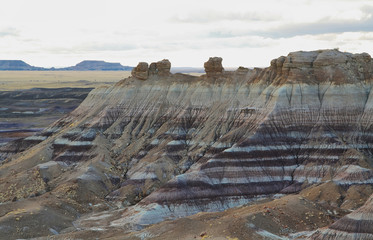 Blue Mesa, Petrified Forest National Park,