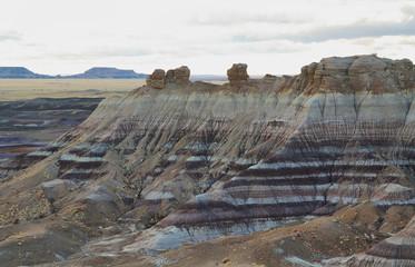 Blue Mesa, Petrified Forest National Park,