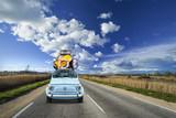 Fototapety Partir en Vacances, Sur la Route