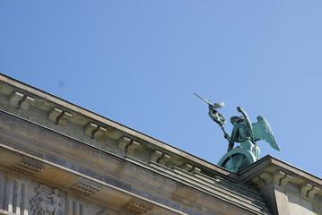 Berlin, Brandenburger Tor, Quadriga, Pferde, Deutschland