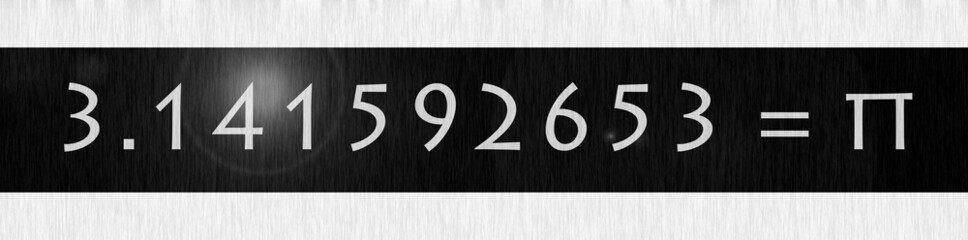 pi number mysterious date