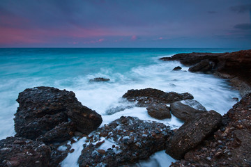 Coast of south eastern Crete, Greece.
