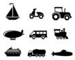 Transport icons set - 62388888