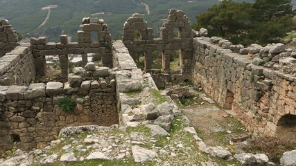 5th or 6th century BC Ancient Arycanda City at Turkey
