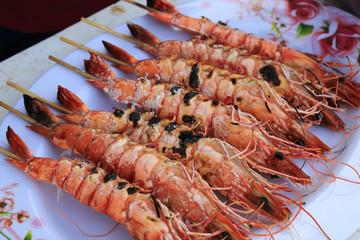 Delicious Grilled Shrimp