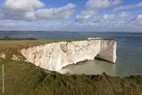 Old Harry Rocks chalk formations, Handfast Point, Dorset