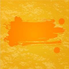 Orange splash background