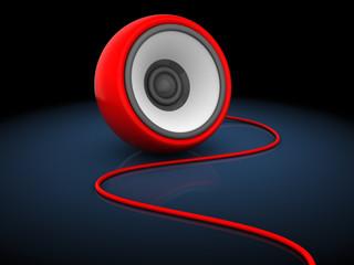 3d sphere speaker