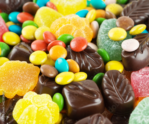 Candy background - 62393487