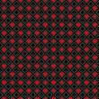 Fond symboles jeu de cartes en rouge et noir