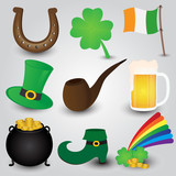 St. Patrick's Day Icons Collection