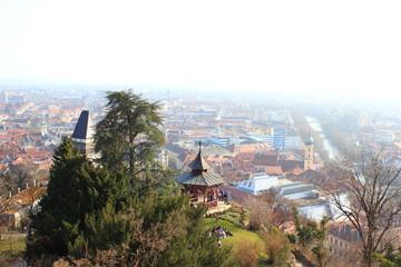 Der Chinesische Pavillon auf dem Grazer Schloßberg