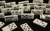 Domino. Board game