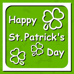 Happy St. Patrick's Day - Greeting card