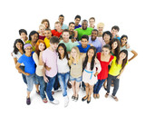 Multiethnic Group of Young Adult