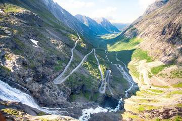 Famous Norwegian Troll's Path